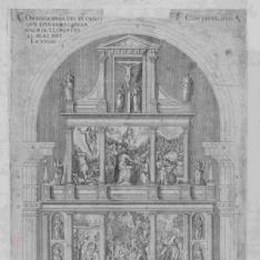 Octavo Diseño, Alzada del retablo de la capilla mayor