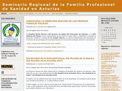 Seminario Regional de la Familia Profesional de Sanidad en Asturias