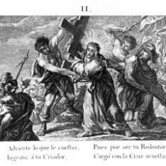 Cristo, con la cruz a cuestas
