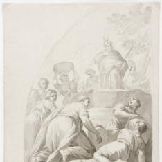 Moisés y la recogida del maná
