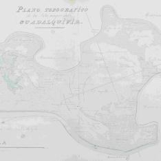 Plano Topográfico de la Ysla mayor del Guadalquivir