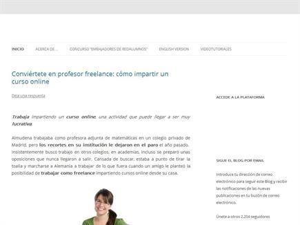 El blog de redAlumnos, Entorno de Aprendizaje Social