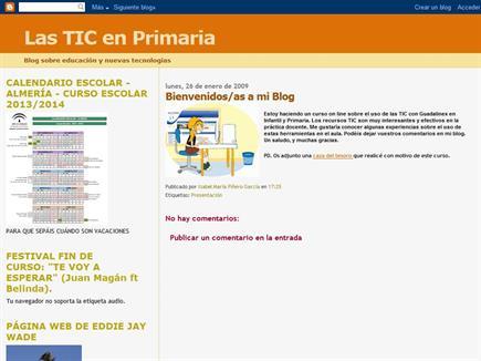 Las TIC en Primaria