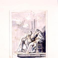 Santa Teresa y San Pedro de Alcántara