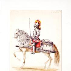 Caballero español del siglo XVI