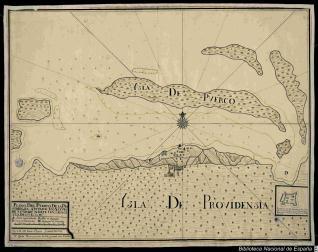Plano Del Puerto De la Providensia