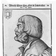 Retrato de Albrecht Dürer