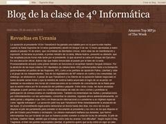 BLOG DE LA CLASE DE 4º DE INFORMÁTICA