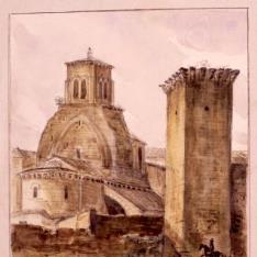 Iglesia de San Juan y Torreón del Amparo, Huesca