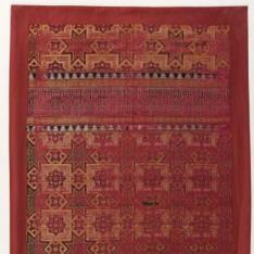 Fragmento de seda de la Alhambra
