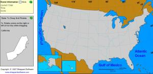 States of United States. Geographer. Sheppard Software