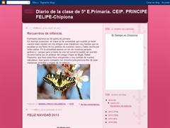 Diario de la clase de 5º de E.Primaria.CEIP.PRINCIPE FELIPE-Chipiona