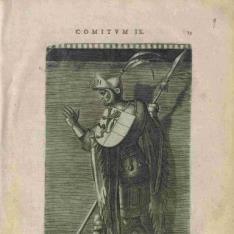 Retrato de Godofredo III, el Jorobado