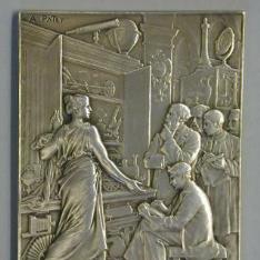 Medalla conmemorativa del centenario del Conservatorio Nacional de Artes y Oficios