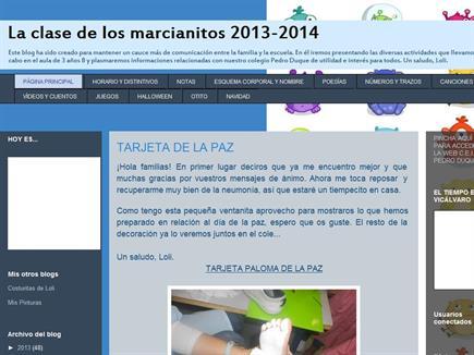 LA CLASE DE LOS MARCIANITOS