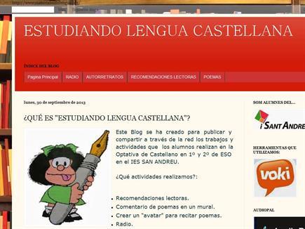 ESTUDIANDO LENGUA CASTELLANA