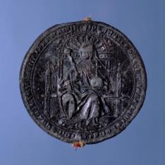 Sello de Juana I, reina de Castilla, de León y Granada