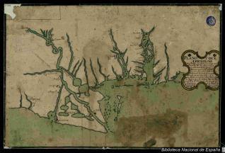 Plano y Descripción de la Probincia de Louciana