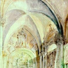 Puerta de los canónigos de la Catedral de Toledo (capilla del Tesoro)