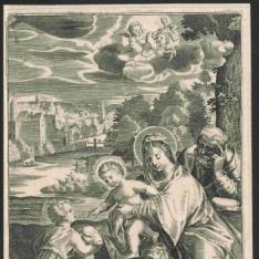 Sagrada Familia con San Juanito