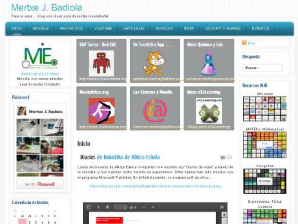 Para el aula ... blog con ideas para docentes inquietos/as