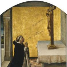 San Pedro Mártir en oración