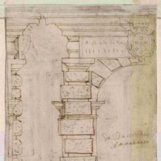 Estudio de puerta para Palazzo Pitti