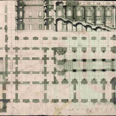 Proyecto para la escalera del Palacio Real de Madrid