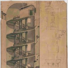 Escalera del Palacio Barberini, Roma