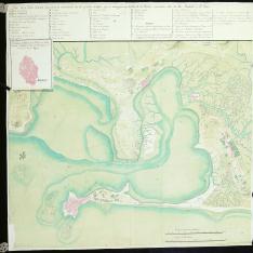 Plano de la Bahia de Cadiz