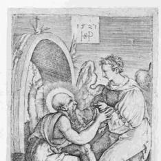 San Jerónimo y el ángel