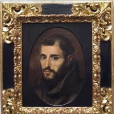 Retrato de fraile franciscano