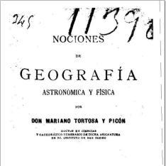Nociones de geografía astronómica y física