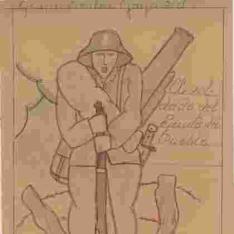 El soldado del ejército del pueblo
