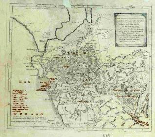 Mapa geográfico de los términos de Xerez de la Frontera