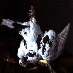 Bodegón con aves