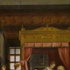 El Nacimiento de la Virgen. La Anunciación. La Adoración de los pastores