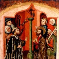 San Bartolomé ante el Emperador