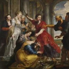 Aquiles descubierto por Ulises y Diomedes