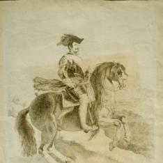 Retrato ecuestre del Rey Felipe IV
