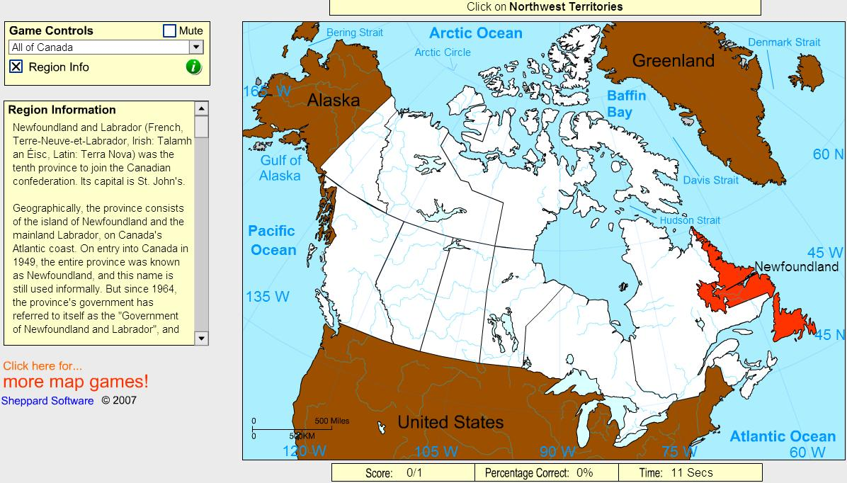 Interactive Map Of Canada And Provinces.Interactive Map Of Canada Provinces Of Canada Beginner Sheppard