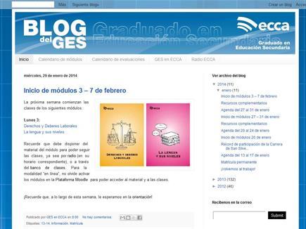 El Blog del GES de Radio ECCA