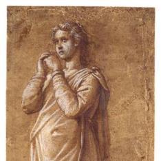 Figura femenina con túnica