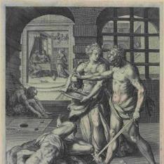 La degollación de san Juan Bautista