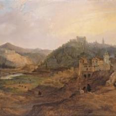 Vista general de Toledo desde la Cruz de los Canónigos