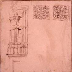 Detalles decorativos de la catedral de Tarazona, Zaragoza