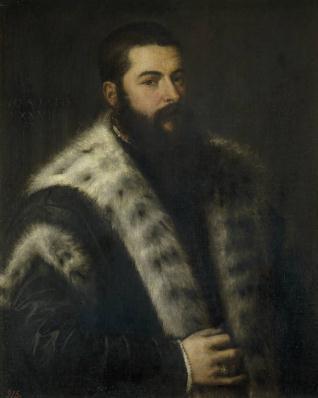 El hombre del cuello de armiños