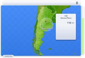 Ciudades de Argentina. Juegos Geográficos
