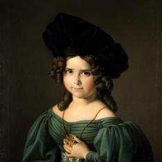 La niña Matilde Cobos