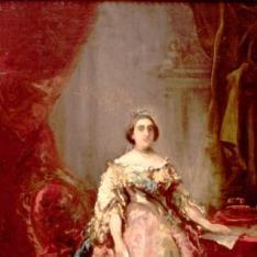 Boceto para un retrato de la Reina Isabel II